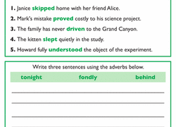 3rd grade adverbs learning resources education com