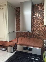 kitchen stone backsplash ideas penny backsplash kitchen copper penny backsplash diy how to lay mosaic tile penny backsplash