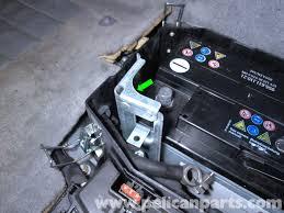 Porsche Cayenne Parts - porsche cayenne battery replacement 2003 2008 pelican parts