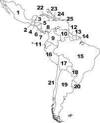 america and america map quiz countries and capitals of central and south america quiz by