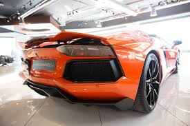 Lamborghini Aventador Features - lamborghini aventador in pepto pink over orange has got to be ironic