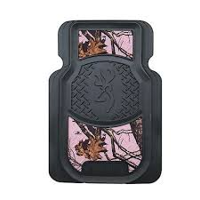 amazing design mossy oak floor mats amazon com browning buckmark
