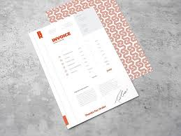 25 melhores ideias de freelance invoice template no pinterest