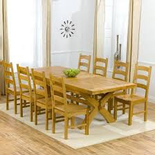 decoration of dining table mitventures top 20 oak extending dining tables and 8 chairs dining room ideas