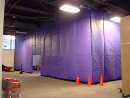 Loading Dock Air Curtain Loading Dock Curtains Provide Temperature Control For Warehouse