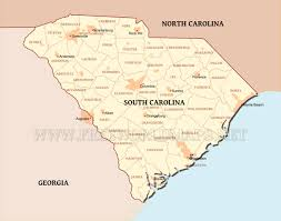 Map Of South United States by South Carolina Maps