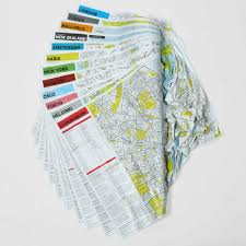 San Francisco City Map by Crumpled City Map San Francisco Palomar Touch Of Modern
