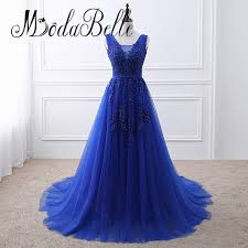 royal blue tulle aliexpress buy modabelle modest dubai royal blue evening