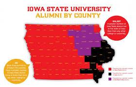 Iowa State University Map County Fact Maps Alliance For Iowa State