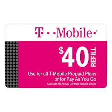 go prepaid card t mobile 40 prepaid refill card email delivery target