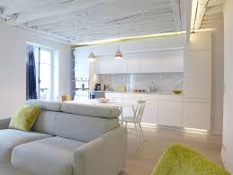cuisine avec aménagement salon design avec cuisine ouverte côté maison