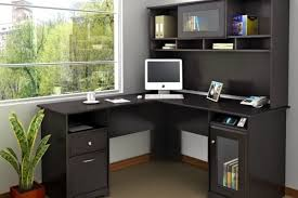 L Shaped Home Office Furniture The Best Small Home Office Desk With Hutch
