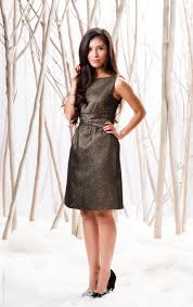 holiday series metallic party dress