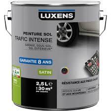 leroy merlin le exterieur peinture sol extérieur intérieur trafic luxens gris