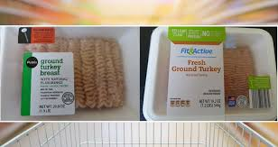 recall ground turkey from publix aldi may contain metal shavings