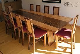 Custom Wood Furniture Reclaimed Table Art Seattle  NK - Custom kitchen table
