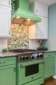 southwestern style i my kitchen diy with green cabinets and