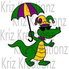 mardi gras alligator mardi gras alligator svg cut file mardigras mardi