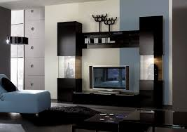 pretty living room design idea with modern tv wall cabinet unit