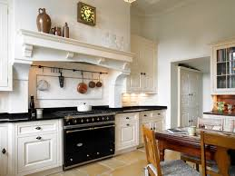black and white themed french kitchen outofhome