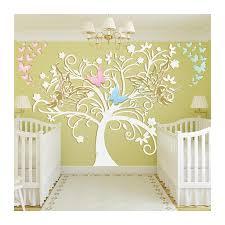 chambre dans un arbre stickers chambre bébé arbre et fées un sticker mural exceptionnel