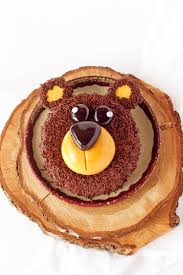 how to make a simple bear cake with video the bearfoot baker