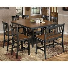 Owingsville Counter Height Dining Room Set Signature Design - High dining room sets