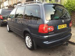 volkswagen sharan 1 9 tdi 6 speed manual non smoker 1100 no