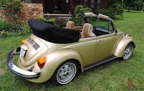 volkswagen beetle convertible volkswagen super beetle limited edition gold sun bug convertible