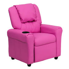 Contemporary Recliners Flash Furniture Dg Ult Kid Pink Gg Contemporary Pink Vinyl
