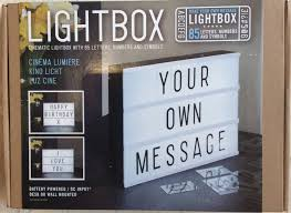 make your own light up sign locomocean light up your life cinematic a4 lightbox plastic black