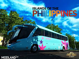 philippines bus islands of the philippines g7 v 2 0 mod for ets 2