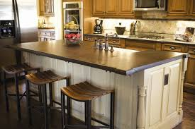 countertops for kitchen islands stainless steel countertops kitchen island with granite countertop
