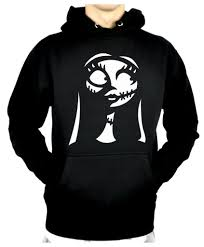 for sally pullover hoodie sweatshirt nightmare before