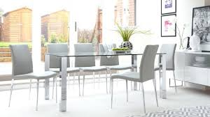 glass top dining table set 6 chairs large glass dining table top room tables best sets seats 8