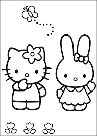 kitty characters free coloring pages art coloring pages