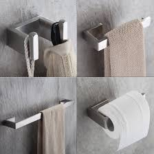 Toilet Stainless Steel Compare Prices On Stainless Steel Bathroom Accessories Set Online