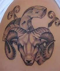 52 zodiac aries tattoos on shoulder