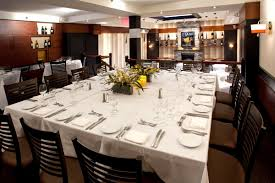 private dining at glass house tavern corporate dinner luncheon