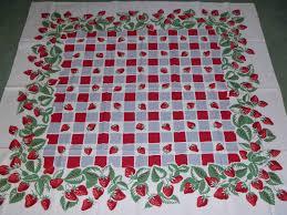 vintage simtex tablecloth 1940 u0027s vintage tablecloths pinterest