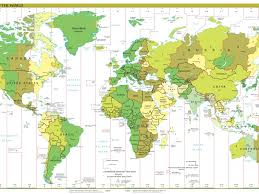 World Time Clock Map by Time Zone Map Wallpapers Gallery Image Mrfab