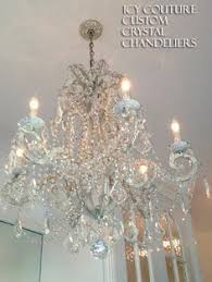 Miniature Chandelier Crystal Versailles Chandlier By J Getzan 295 00 Swan House Miniatures