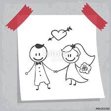 dessin mariage dessin mariage fichier vectoriel libre de droits sur la banque
