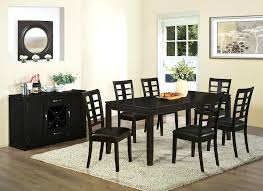 Cheap Dining Room Tables 8 Dining Room Set Modern Espresso Finish Counter Height 8
