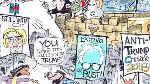 cartoonists on hillary clinton newsday