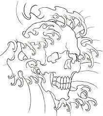 17 best heart outline skull tattoo designs images on pinterest