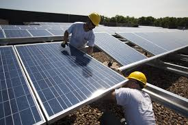 solar panels on roof target walmart top list of solar powered companies fortune