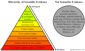 how to write a meta analysis research paper the hierarchy of evidence is the study s design robust the hierarchy of scientific evidence randomized controlled study case cohort research design