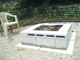 How To Build A Gas Firepit How To Build Outdoor Gas Fireplace Cotter Fireplace 3