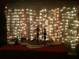 curtain lights white bulbs white wire